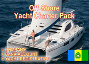 Off-shore Yacht charter Pack